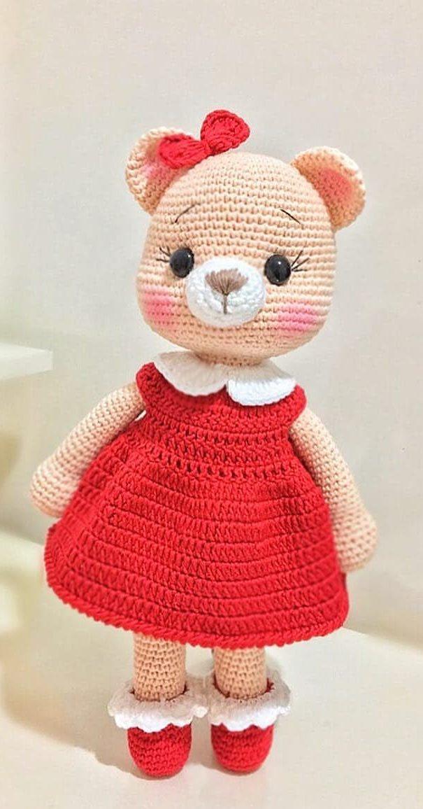 Free Cute Amigurumi Patterns- 25 Amazing Crochet Ideas For ... | 1156x605