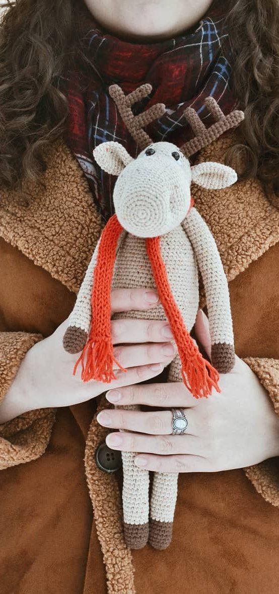 Crochet Amigurumi lady doll for boys and girl Gift ideas rattle ... | 1180x554